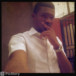 Ceeejayskinny aka Dah Omalicha Niqqa (Baddest bro ever liveth) + also winner of our gunman pose