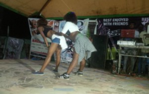 Tina tunez and abiola doing their thing