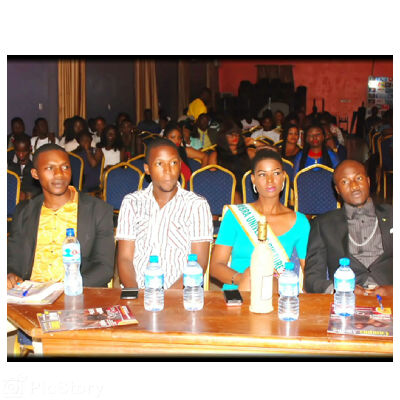 Judges For the night L-R: Jolly, Campus Amebo, Miss Anambra Universe, Mr Tourism Anambra