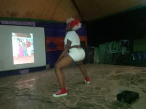 Contestant no2 twerking