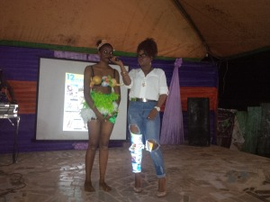 Contestant No1 cultural attire