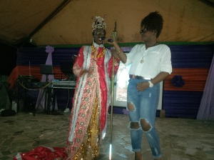 Contestant No2 Calabar attire (Best cultural outfit on the night)