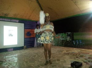 Contestant No3 cultural attire