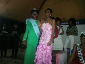 Her first beauty queen wave as the new Face Of Ansu